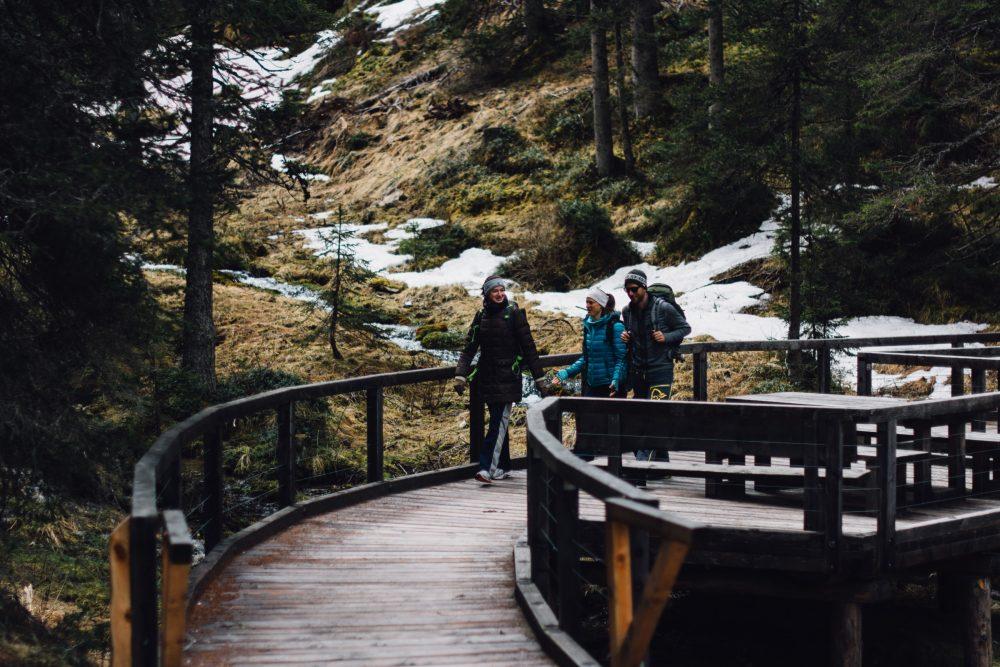 Geislergruppe Wandern